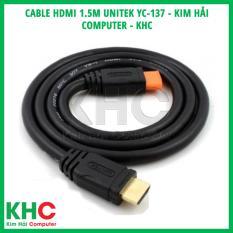 Cable HDMI 1.5m Unitek YC-137 – Kim Hải Computer – KHC