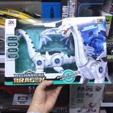 Đồ chơi khủng long có cánh có đèn có âm thanh chạy pin Ao Xie toys 845B