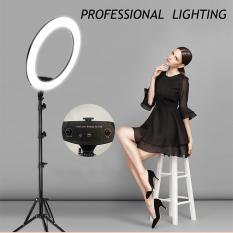 Video Bộ đèn livestream 45CM- đèn hỗ trợ chụp ảnh, quay video cao cấp, dụng cụ hỗ trợ livestream-phát trực tiếp