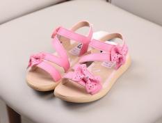dép sandal bé gái size 26-30 quai xinh năm 2019
