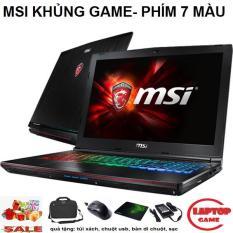 GAMING Khủng MSI GE62 6QD ( i7-6700HQ, VGA rời Nvidia GTX 960M, ram 8G, HDD 1000G, màn 15.6″ FullHD IPS) Phím Led RGB 7 Màu Đậm chất game thủ
