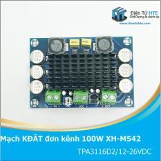 Mạch khuếch đại âm thanh đơn kênh 100W XH-M542 TPA3116D2