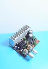 Mạch khếch đại 3 kênh + chỉnh bass (tháo máy). AL.77