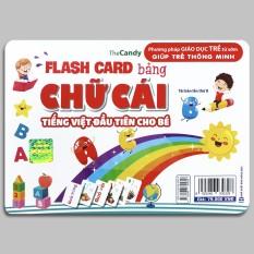 FlashCard Bảng Chữ Cái Tiếng Việt Đầu Tiên Cho Bé (Phương pháp giáo dục trẻ từ sớm giúp trẻ thông minh)
