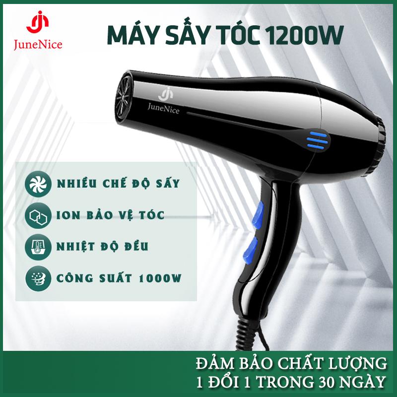 Máy Sấy Tóc công suất lớn 220V khô nhanh 5 chế độ sấy phù hợp với mọi loại tóc tặng kèm đầu sấy dẹp 1 Đổi 1 Trong 20 Ngày
