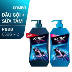Combo Dầu gội X-men Phiên Bản Đặc Biệt 650g và Sữa tắm X-men Phiên Bản Đặc Biệt 650g
