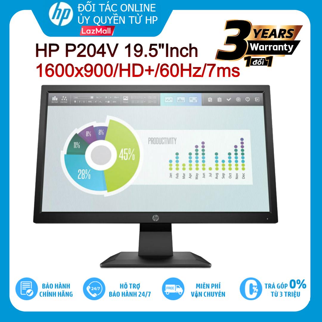 Màn Hình LCD HP P204V 19.5 Inch 1600×900/ HD+/ 60Hz/ 7ms-Hàng chính hãng new 100%