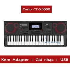 Đàn Organ Casio CT-X3000 kèm USB + AD + giá nhạc ( CTX3000 ) – NEW 100% – HappyLive Shop