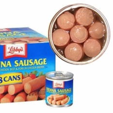 [Date: 07/2022] Lốc 4 Hộp Xúc xích Mỹ Libbys Vienna Sausage – USA, Xúc xích hộp, Thịt hộp, Thịt đóng hộp, Xúc xích Libby, Xúc xích hộp Libbys Mỹ USA,- Bách hóa Takamart