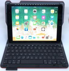 Bàn Phím iPad 5th 2017 Hiệu Logitech Type + Bluetooth Kiêm Bao Da Bảo Vệ Mới Full Box