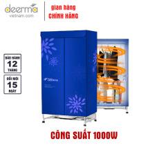 Tủ Sấy Quần Áo DEERMA Q7C Công Nghệ Diệt Khuẩn (Công Suất 1000W)