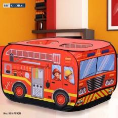 Nhà bóng cho bé mô hình xe cứu hỏa 995-7035B – nhà banh, quây bóng, do choi tre em