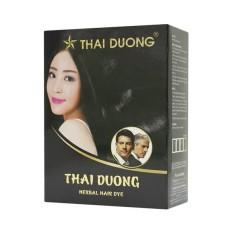 1 hộp thuốc nhuộm tóc dược liệu Thái Dương gồm 5 gói