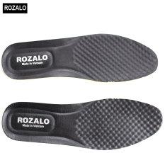 Lót giày cao su non phủ da siêu êm với chức năng massage chống tê chân Rozalo R4001