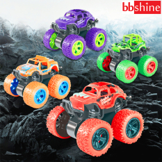 Xe ô tô đồ chơi cho bé trai, xe địa hình bánh đà cho trẻ em nhào lộn 360 độ chạy đà cực mạnh bằng nhựa nguyên sinh ABS BBShine – DC054