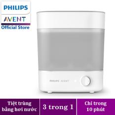 Máy tiệt trùng bình sữa 3 trong 1 thế hệ mới Starlight hiệu Philips Avent SCF291/00