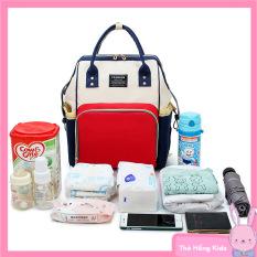 Balo / Túi bỉm sữa cho mẹ bé có ngăn giữ nhiệt sữa thời trang đa năng tiện lợi – Shop Thỏ Hồng