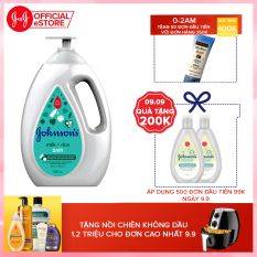 Sữa tắm chứa sữa và gạo Johnson's Milk & Rice bath 1000ml