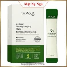 Mặt nạ ngủ dạng thạch Bioaqua Collagen Firming Sleep Mask kiểm soát dầu chống lão hoá BCF3