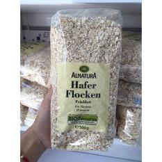 Yến mạch Hafer Flocken nhập Đức nguyên chất loại cán vỡ cán mỏng ăn liền 500g giúp giảm cân, đẹp da, giảm cholesterol và cho bé ăn dặm – Ngũ cốc oatmeal