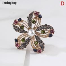 Jettingbuy Ghim cài áo nhiều kiểu dáng có đính đá giả kim cương nhiều màu sắc tạo cảm giác thanh lịch – INTL