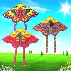 Diều bướm lớn 1,6m tặng kèm 50m dây dù