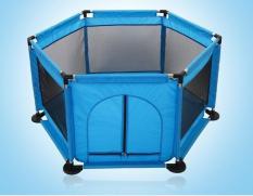 Nhà bóng khung kim loại cỡ lớn tặng kèm 20 bóng (tím than) – (BQ339-TIMTHAN)