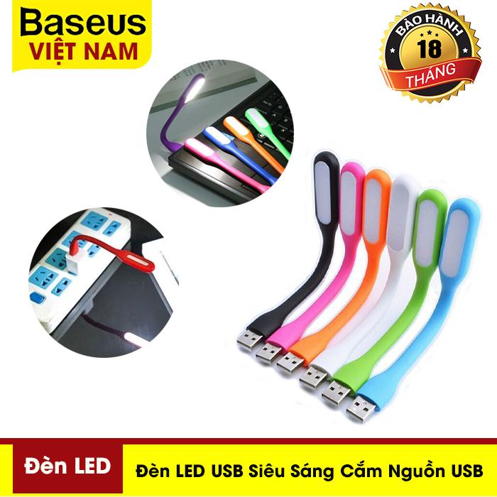 Đèn LED USB siêu sáng cắm nguồn USB ( giao mầu ngẫu nhiên)