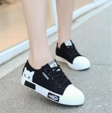 Giày Thể Thao Nữ Hàn Quốc Mèo đen .Mèo hồng – trắng – Vuốt Về Sau Xem Ảnh Thật _ Khánh Linh Mobile (Hà Nội)