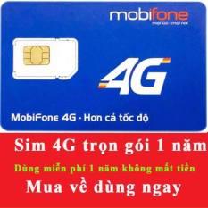 Sim 4G Mobifone Trọn Gói 1 Năm khong can nap tien