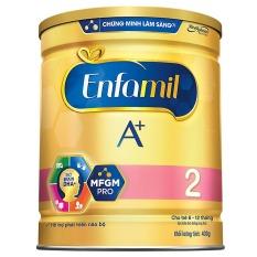 Home Delivery-Sữa Enfamil A+ 2 cho trẻ từ 6-12 tháng tuổi (400g)