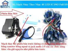 Bộ Mạch Nháy Theo Nhạc 48 LED IC1903 Full