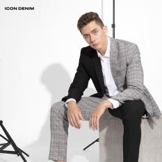 ICON DENIM – Áo Khoác Blazer Versatile W Plaid