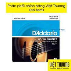 Dây Đàn Guitar Acoustic D'Addario EJ11 – Việt Hoàng Phong