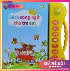 [𝐇𝐀̀𝐍𝐆 𝐌𝐎̛́𝐈] Sách Song Ngữ Học Tiếng Anh Tiếng Việt Toán Học Giúp Trẻ Phát Triển Kỹ Năng Tặng Kèm Bút Viết