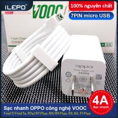 Sạc nhanh, củ sạc, cáp sạc cực nhanh VOOC OPPO 4.0, dùng cho các dòng điện thoại F1, F3, F9, sạc ổn định, an toàn cho điện thoại, bảo hành 6 tháng OPPO AK779