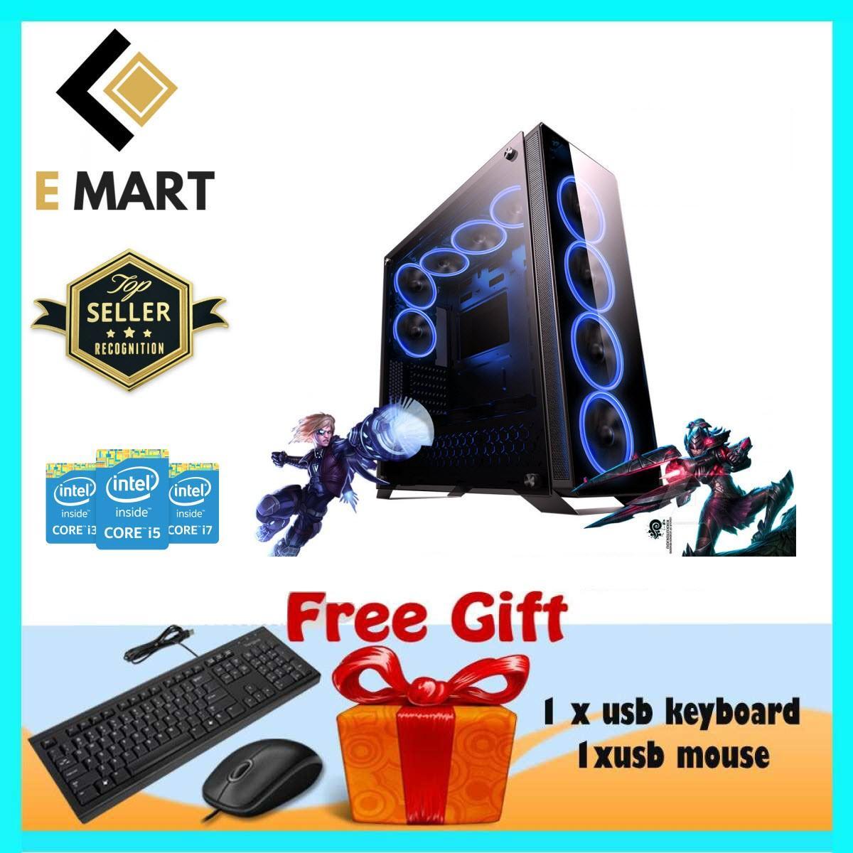 PC Gaming Cao Cấp Cao Cấp Core i5 3470, Ram 8GB, HDD 2TB, VGA GTX1050TI 4GB EMGP75 + Quà Tặng