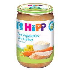 [FREESHIP] Dinh dưỡng đóng lọ Cơm nhuyễn Rau Gà tây HiPP Organic 220g