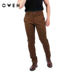 OWEN – Quần khaki Slimfit màu nâu QKSL92003-BNL