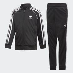 adidas ORIGINALS Bộ trang phục thể thao SST Unisex trẻ em Màu đen DV2849
