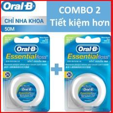 COMBO 2 Chỉ nha khoa Oral B 50m