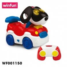 Ô tô trẻ em hình cún con điều khiển từ xa Winfun 1150