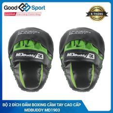 Đích đỡ bàn tay võ thuật – đích đấm bàn tay – MDBuddy cao cấp – Thiết bị tập đấm bốc boxing chuyên nghiệp dành cho đối kháng, trainning, sparring MDBuddy MD1903