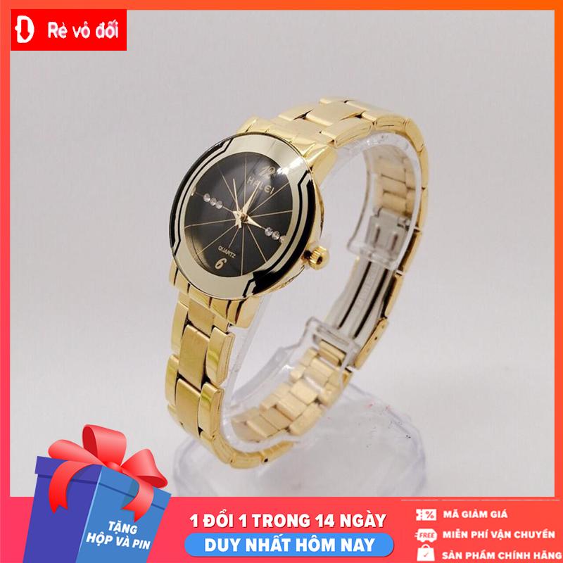 [MIỄN PHÍ GIAO HÀNG] Đồng hồ nữ Halei dây kim loại,chống nước ,chống xước tuyệt đối, sang trọng lịch lãm – Tặng hộp và pin dự phòng – Tặng hộp và pin dự phòng – Sam Shop