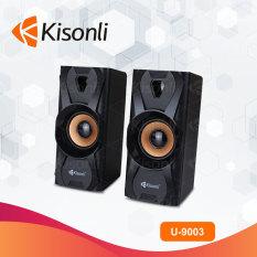 Loa máy tính 2.0 Kisonli U-9003