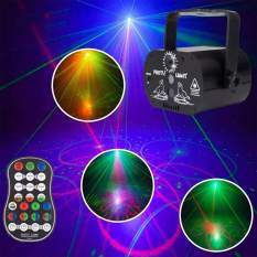 60 Model LED Laser Projector Stage Lights RGB Lighting Remote Control Party Club KTV DJ Disco Light