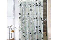 Màn treo phòng tắm caro 1.8m x 1.8m