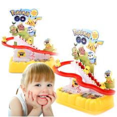 Mô hình đồ chơi Pikachu leo thang & trượt cầu tuột vui nhộn, dí dỏm