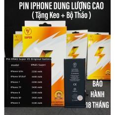 Pin iPhone 7 Plus dung lượng siêu cao Pin dành cho Gamer thương hiệu Vmas Bảo hành 18T