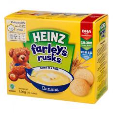 Bánh Quy Ăn Dặm Vị Chuối HEINZ Farley 120G